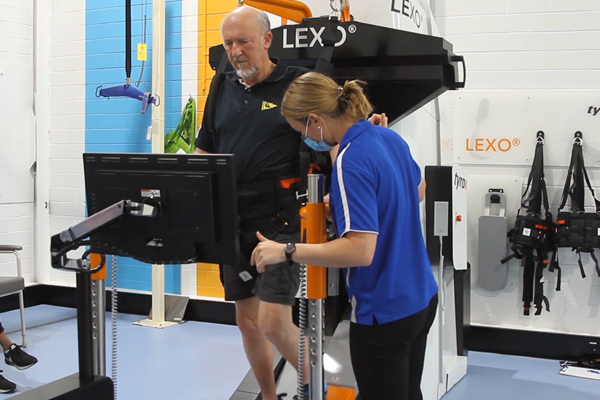 WATCH | World-first technology helps stroke sufferers walk again