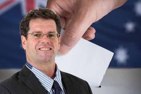 Article image for Peter Gleeson makes a 'cheeky' wager ahead of Queensland election