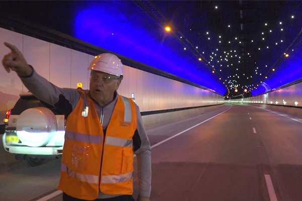 Article image for WATCH | Ray Hadley takes you on first-ever drive through NorthConnex tunnel