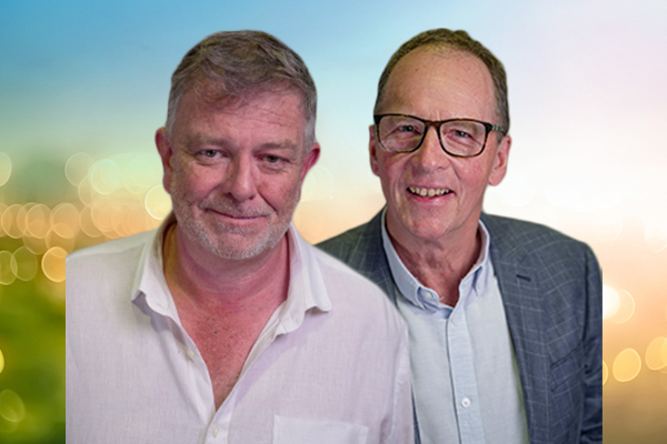 Article image for 'Familiar faces' Murray Olds and Murray Wilton return to the airwaves