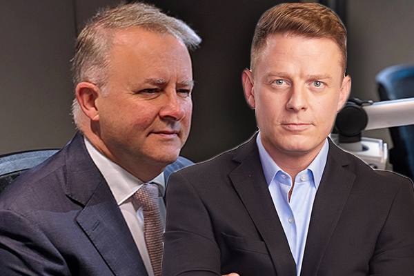Article image for Ben Fordham calls out Anthony Albanese's 'BS' swipe at PM