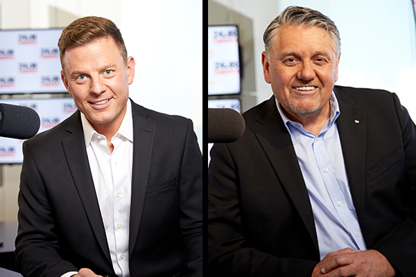 Ben Fordham and Ray Hadley address reports of a 'divide'