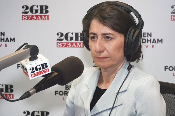 NSW Premier Gladys Berejikian bares all in candid interview with Ben Fordham