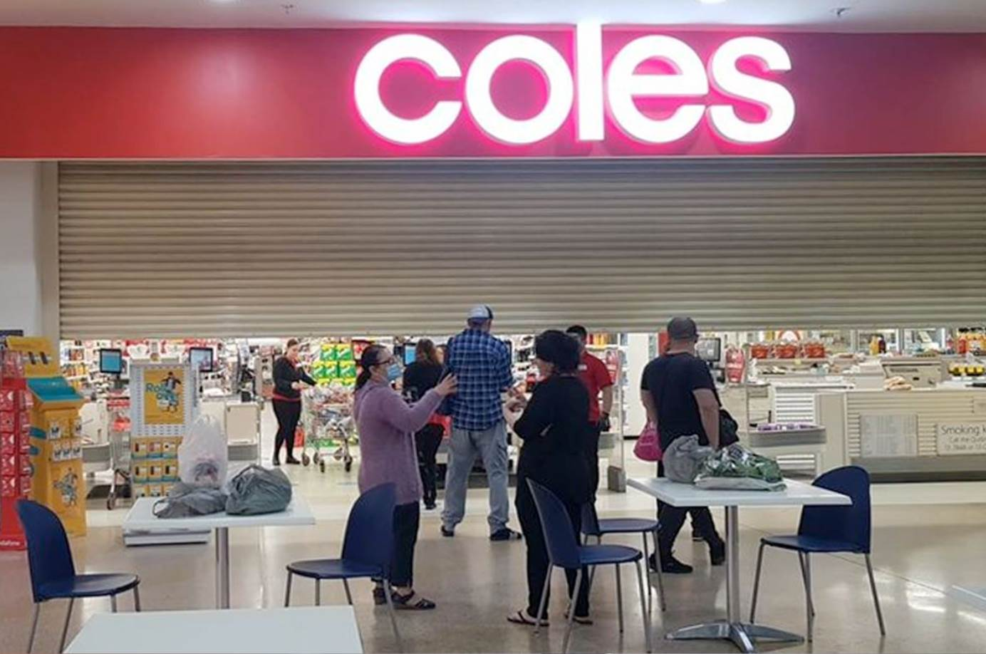 Coles system outage shuts supermarkets across the country