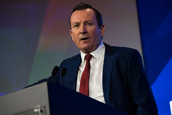 'The cat is out of the bag': WA Premier caught in a border lie