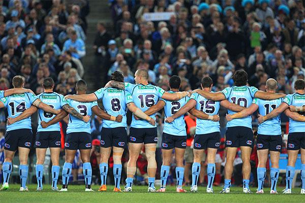 Article image for NRL backflips on plan to scrap national anthem at Origin