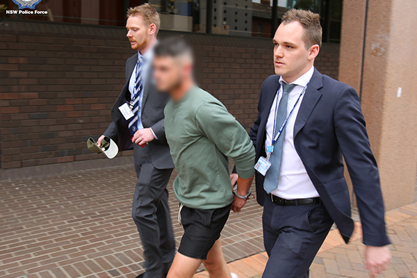 Article image for Irishman charged over two Sydney assaults