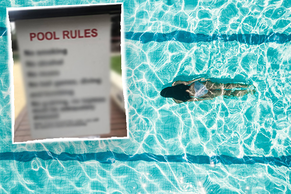 Article image for The 'humiliating' rule banning Sydney residents from apartment pool