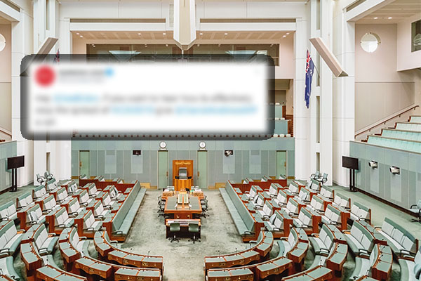 Article image for Liberal MP blasts 'bunch of sickos' behind Labor's 'embarrassing' comment