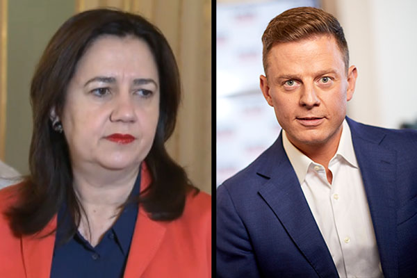 Article image for 'Grow up!': Ben Fordham rips into QLD Premier's childish move