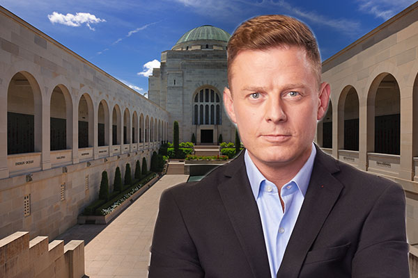 Ben Fordham horrified at 'despicable hall of shame' planned for Australian War Memorial