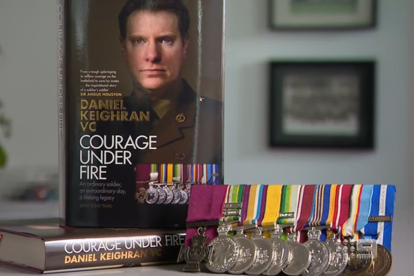 Article image for Humble Australian hero opens up about his unlikely story
