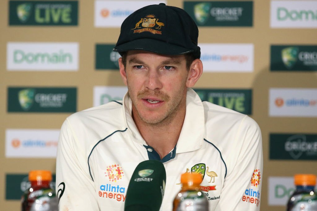 Article image for Test captain Tim Paine to play on in 'the greatest position in the world'