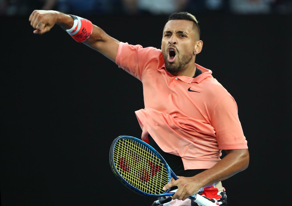 Article image for Aussie tennis great sees silver lining in COVID-19 for Nick Kyrgios' career
