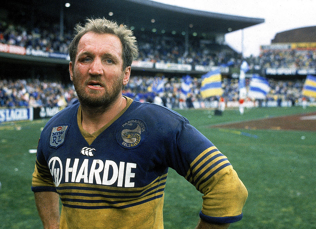 Article image for Parramatta's finest chip in for league legend's cancer battle