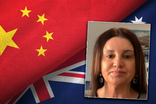Jacqui Lambie demands Australian government stand up to 'out of control' China