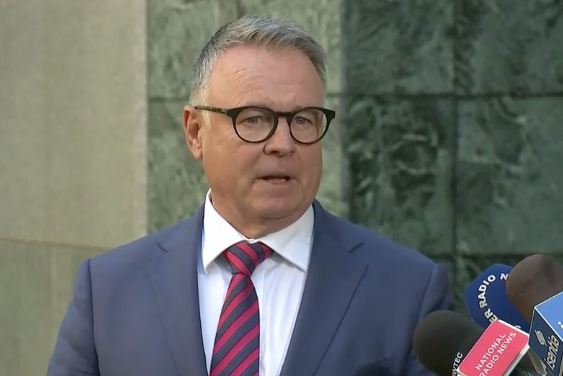 Joel Fitzgibbon clears up rumours of his departure from Labor's front bench