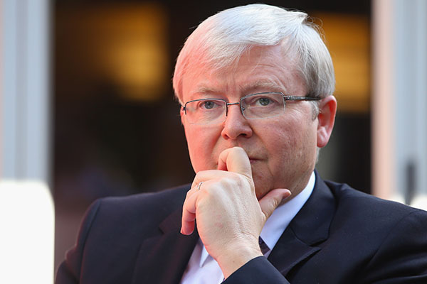 'Cravenly determined to suck up': Kevin Rudd's double standards in the spotlight