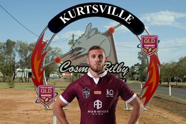 Regional town renames itself in honour of Maroons star