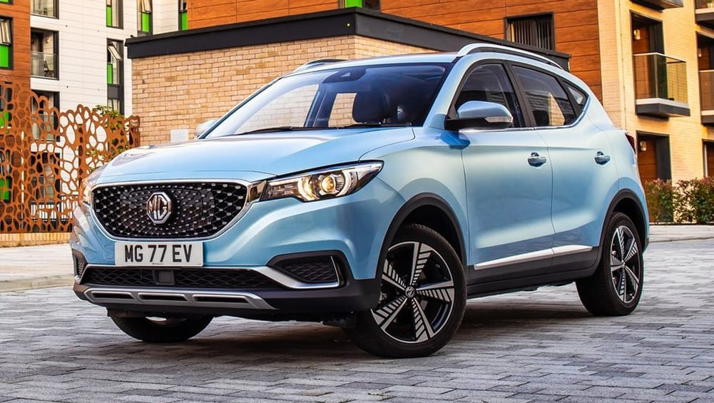 MG launches our most affordable electric vehicle  – the MG ZS EV SUV