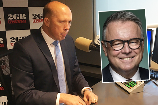 Article image for Peter Dutton hunting for the jockey of 'stalking horse' Joel Fitzgibbon