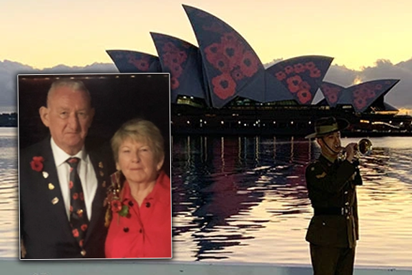 'I'm going to cry': An emotional twist for the veteran behind Poppies on the Sails
