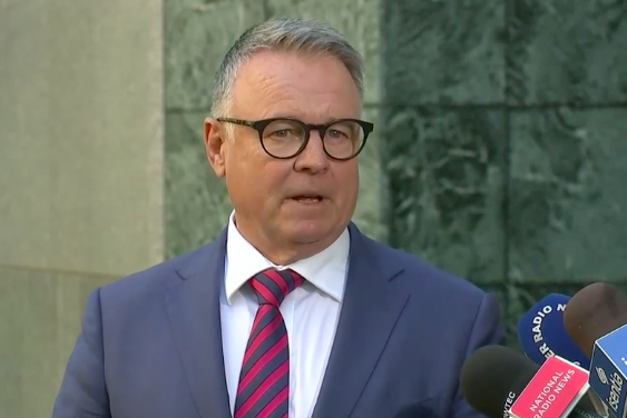 Article image for Joel Fitzgibbon vows to win back voters who 'deserted' Labor amid shock resignation