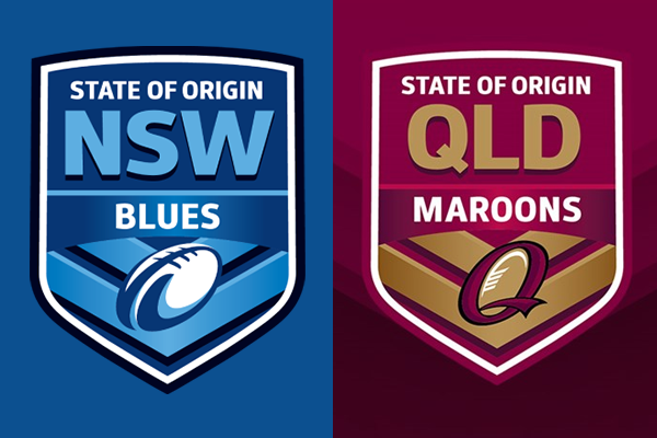 Article image for State of Origin: The Big Marn and Spud Carroll let slip the dogs of war