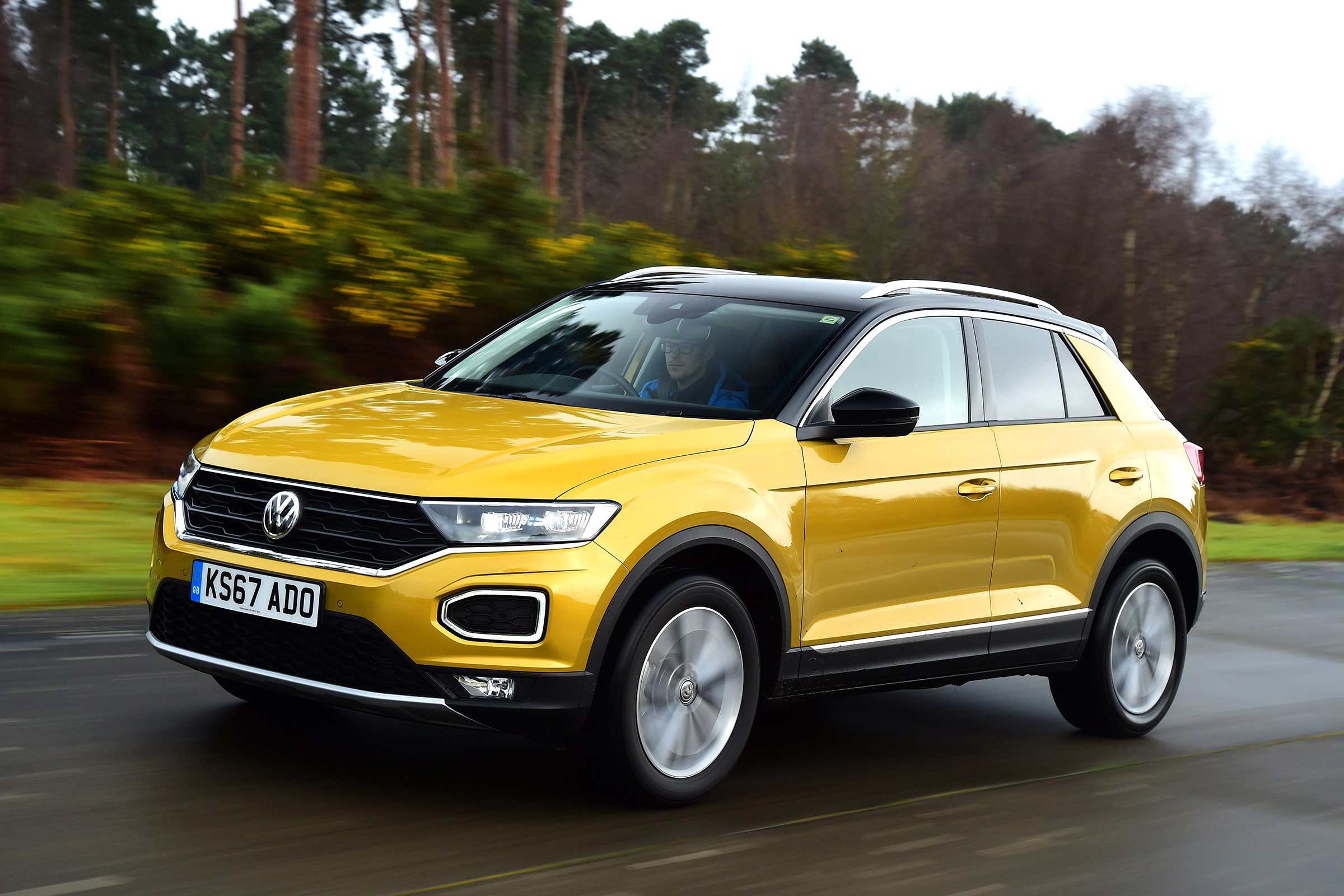 VW's T-Roc SUV – perfect for a small family who love exploring the countryside.