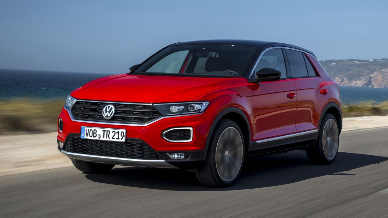 Volkswagen's T-Roc SUV – an impressive small SUV in a very hotly contested market segment .