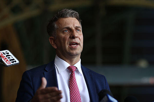 Andrew Constance 'heartbroken' by NSW MP's bold attack