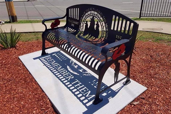 Article image for Listener shares photo of 'beautiful garden chair'