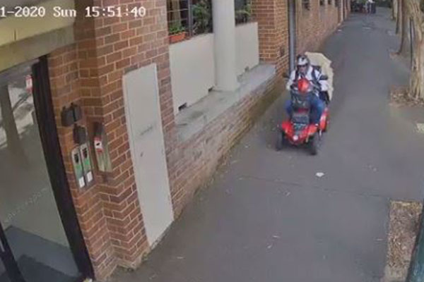Article image for Pensioner's heartwarming reaction after being told live on-air of found mobility scooter