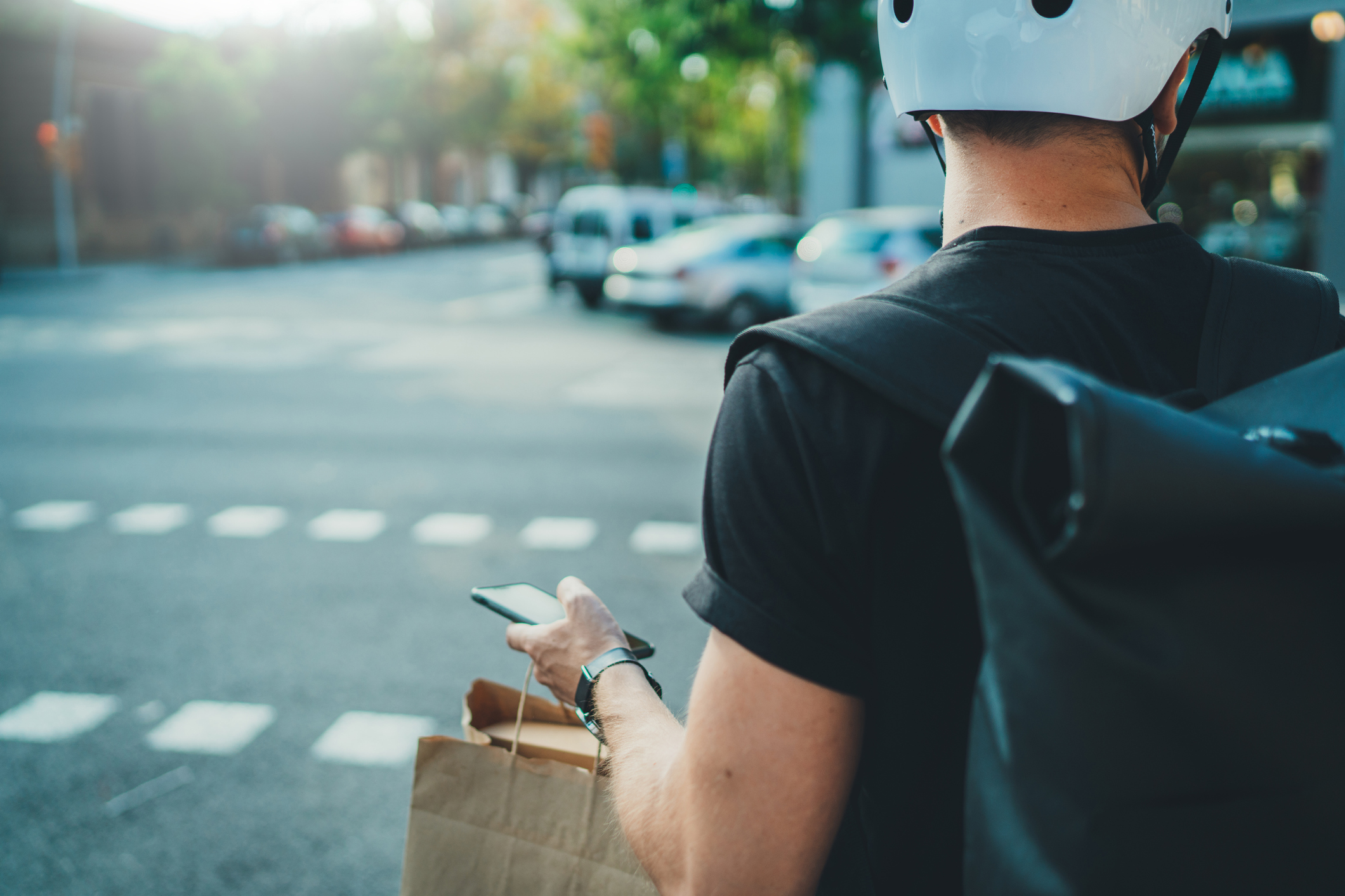 Article image for Food delivery workers win the battle but war is far from over