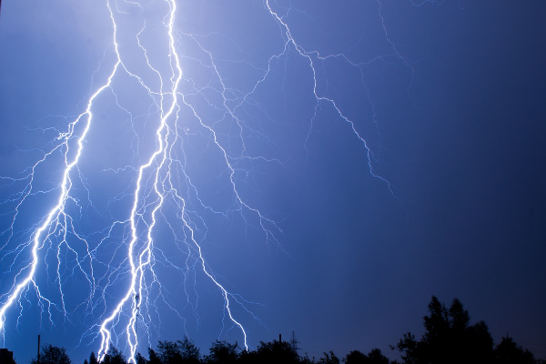 Why lightning is never in a forecast