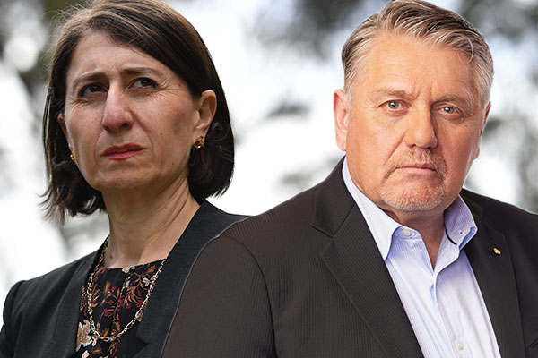 Article image for Ray Hadley reveals truth behind relationship breakdown with Gladys Berejiklian