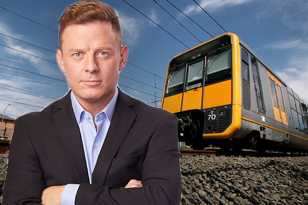 Article image for Ben Fordham confronts union after train network brought to standstill