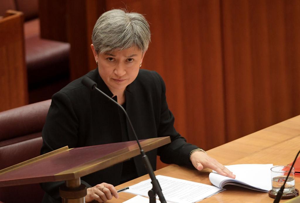 Senator urges calm response as Chinese embassy blasts Australia's 'overreaction'