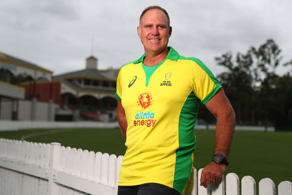 Article image for Cricket legend Matthew Hayden gives 'tick of approval' to 'first class' batsman