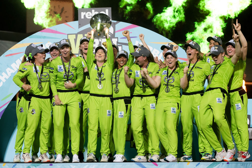 'It's really, really good to watch': WBBL set the bar for summer of cricket
