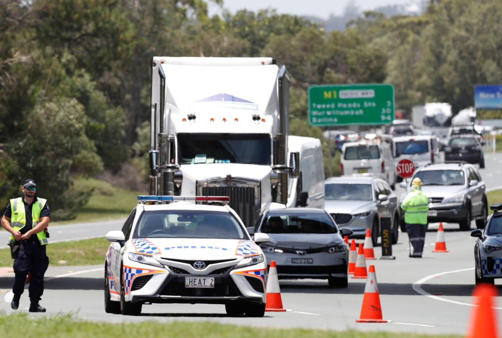 Police resources under strain at border checkpoints