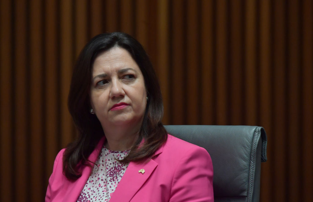 Is the QLD Government hiding behind 'a cloak of secrecy?'