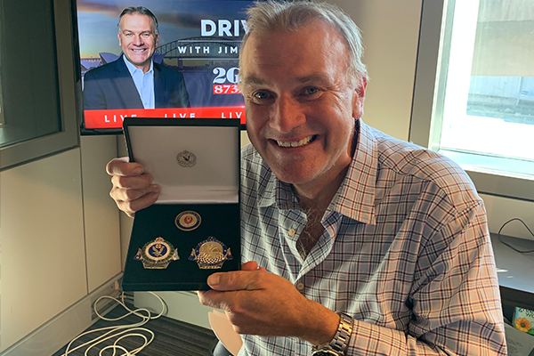 Article image for 'True heroes' honour Jim Wilson with medals of gratitude