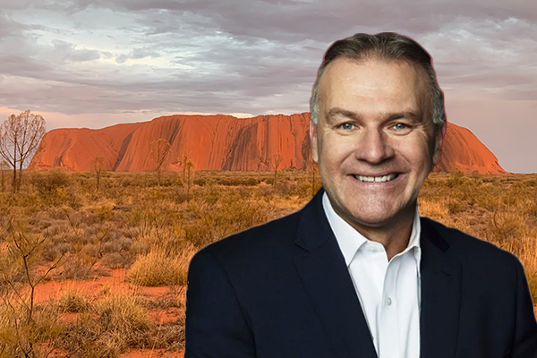 Article image for 'It was truly a moving experience': Jim Wilson reflected on finally visiting Australia's heart