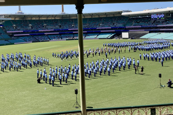 Article image for NSW Police Attestation Parade at the SCG