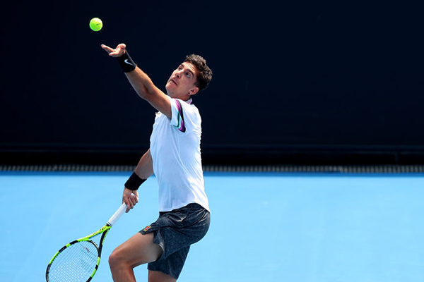 'Feeling pretty good': Thanasi Kokkinakis returns to form for Australian Open