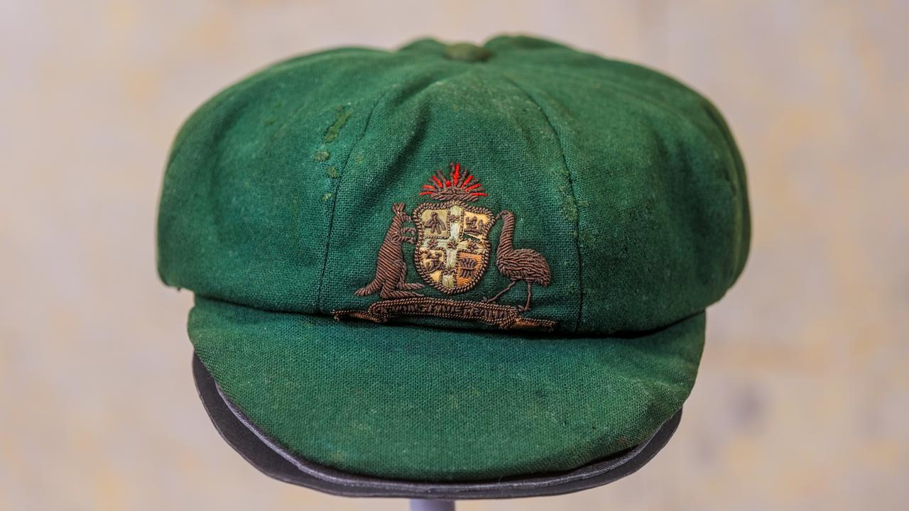 Bradman's first baggy green to go under the hammer, again!