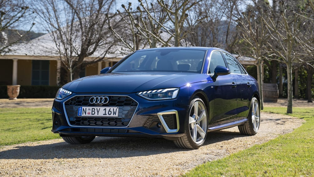 Audi's latest A4 35 TFSI S-line sedan with subtle styling cues a big step up in many ways.