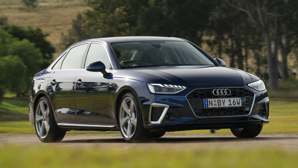 Audi A4 – in its latest guise a much-improved premium sedan featuring a host of technology.