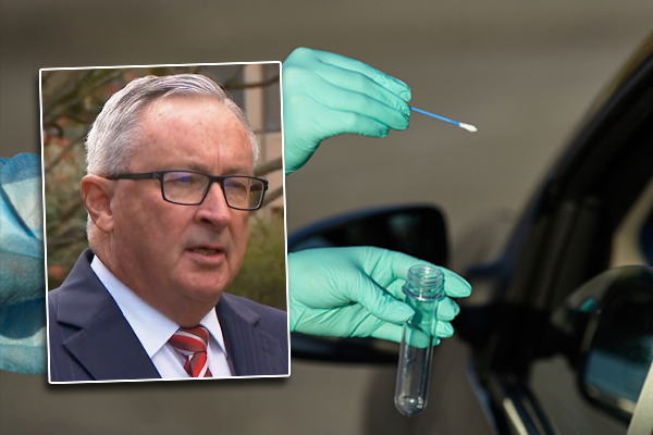 Article image for Health Minister gears up to name and shame COVID clinic charging for tests